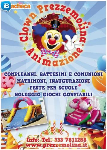 Immagine 3 - Animazione clown Livorno