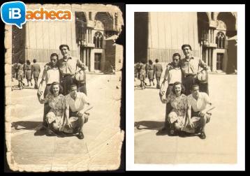 Immagine 1 - Restauro vecchie foto