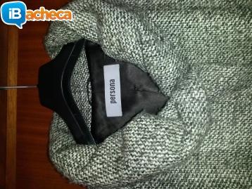 Immagine 1 - Cappotto melange da donna