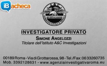 Immagine 3 - Investigatore Privato