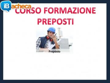 Immagine 1 - Corso Formazione Preposti
