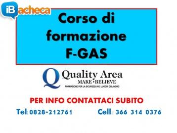 Immagine 1 - Patentino frigorista Fgas