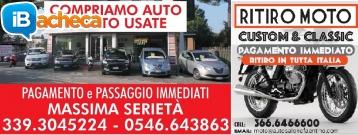 Immagine 1 - Compro Auto e Moto usate