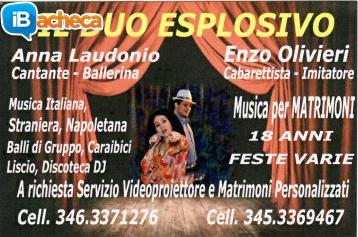 Immagine 1 - il Duo Esplosivo Show