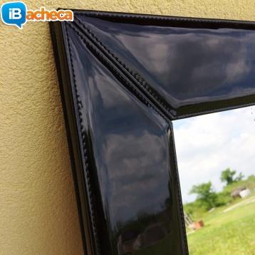 Immagine 3 - Specchio cornice in pelle