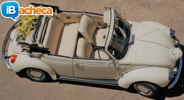 Immagine 2 - Maggiolino cabrio bianco