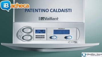 Immagine 1 - Patentino Caldaisti