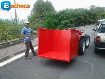 Immagine 2 - Cesto per trattore