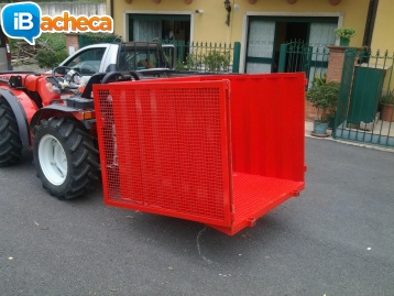 Immagine 3 - Cesto per trattore
